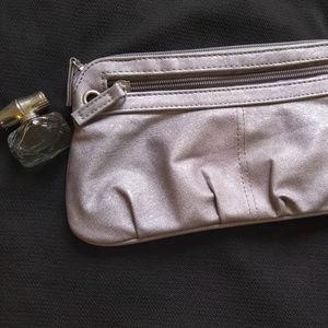 Xhilaration Wristlet silver small